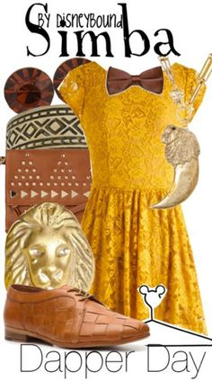 Simba | Disney Bound -- The dress is super cute and The Lion King is my favorite Disney movie so I love this.