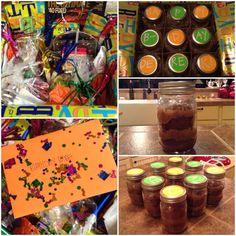 Birthday Cake in a Jar! Birthday Theme Care Package Idea