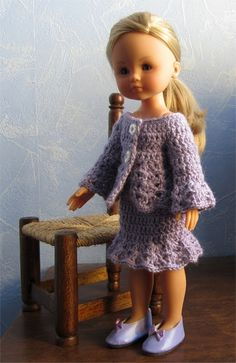 French doll knit & crochet patterns