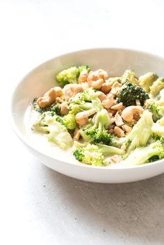 Kip mango curry met broccoli en cashewnoten-Voedzaam & Snel
