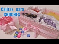 Cajitas para chuches: Ideas de mesa dulce - YouTube
