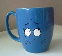 Bubby the whale. From the marvelous misadventures of flapjack. #diy #mug