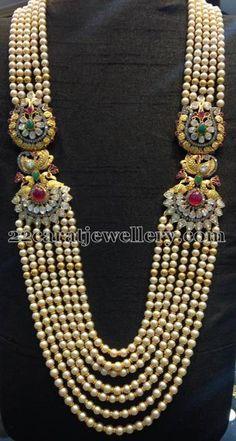 Multi Strings South Pearls Haram