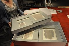 Passive Mats (Part 1) The Textile Museum has a large collection of very fragile, flat archaeological fragments, some of which live in drawers and cabinets without any storage supports. In order to transport these textiles safely, our conservation...