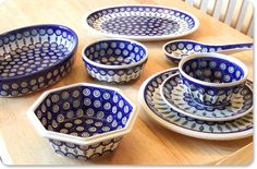 Polish Pottery! Great for baking and serving. You can find it online or at T.J. Max and Marshals. Make sure to check the bottom for the stamp to make sure it is authentically hand made!
