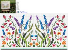 Thrilling Designing Your Own Cross Stitch Embroidery Patterns Ideas. Exhilarating Designing Your Own Cross Stitch Embroidery Patterns Ideas. Cross Stitch Borders, Cross Stitch Flowers, Cross Stitch Charts, Cross Stitch Designs, Cross Stitching, Cross Stitch Embroidery, Embroidery Patterns, Cross Stitch Patterns, Crochet Patterns