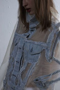 Sheer denim = win!