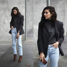 Get this look: http://lb.nu/look/8915042 More looks by CLAUDIA Holynights: http://lb.nu/holynights Items in this look: Prof Boots #casual #chic #street