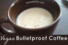 Have you tried bulletproof coffee yet? Here's how to make it vegan!