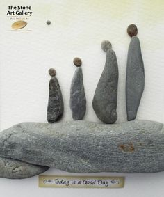 Pebble Art: From the Inishowen Coastline. Facebook: The Stone Art Gallery www.thestoneartgallery.com Picture Wire, Pebble Pictures, Sea Crafts, Pebble Art, Stone Art, Sticks, Art Gallery, Craft Ideas, Sculpture