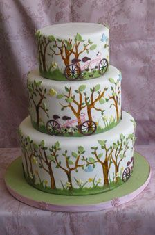 wedding cakes tandem - Google Search