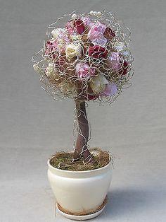 Silk flower display (topiary)