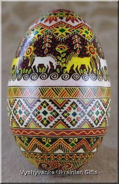 beautiful ukrainian egg
