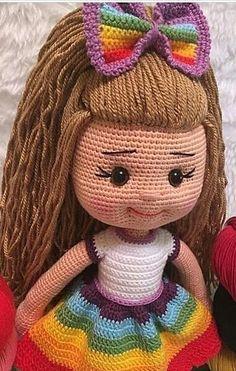 Amazing and very Cute Crochet Amigurumi Pattern Ideas for 2019 Part amigurumi pattern free; amigurumi pattern anime Knitting PatternsKnitting For KidsCrochet BlanketCrochet Scarf Crochet Amigurumi Free Patterns, Crochet Doll Pattern, Doll Patterns Free, Cute Crochet, Crochet Baby, Yarn Dolls, Amigurumi Doll, Little Princess, Stuffed Animals