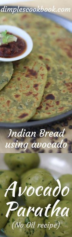 Avocado paratha / chapati is a great breakfast recipe to kick start your day. Indian Breads, Indian Food Recipes, Ethnic Recipes, Chapati, Ripe Avocado, Cookbook Recipes, Weight Watchers Meals, Healthy Fats, Recipe Ideas