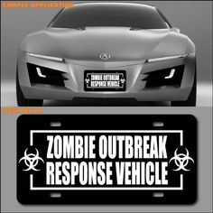 ZOMBIE RESPONSE VEHICLE-I'd prefer a truck full of weapons and supplies but if you have to make a fast get-away, then GO for it!  :D
