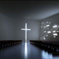 Protestant Church  #ando #architecture #tadao Pinned by www.modlar.com