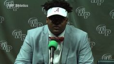 Alabama's newest commit rocks the visor rather than the hat to avoid messing up his great hair.New Alabama commit picks visor over hat so as not to mess up great hair  2/2/2016