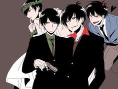 Embedded Reborn Katekyo Hitman, Hitman Reborn, Osomatsu San Doujinshi, Dark Anime Guys, Mafia, Black Hair, Otaku, Kawaii, Fan Art
