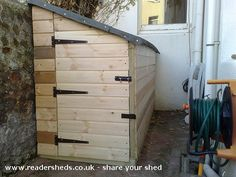 2 bicycle shed | MK2 Bespoke Bike shed, Unique shed from Brighton | Readersheds.co.uk
