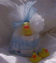Sweet Little Duck Baby Shower Favor Idea