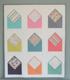Envelope Quilt design