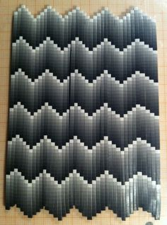 bargello by Edelchin via Flickr  WOW mathematical sons would love this