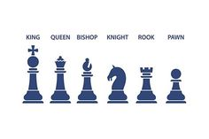 chess icons set by Kurokstas on @creativemarket