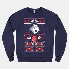 Yep... Want this too...  Scifi Christmas Sweater | T-Shirts, Tank Tops, Sweatshirts and Hoodies | HUMAN