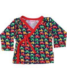 Baba Babywear baby wrap met speelgoedautootjes. baba-babywear.nl.emilea.be