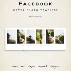 My Facebook Cover Photo Templates are made specifically for your Facebook Timeline Cover.      ● This product comes with 1 file for you to edit in