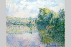 La Seine à Vétheuil (The Seine at Vétheuil) - Claude Monet, 1880, Portland Museum of Art, Maine. http://www.portlandmuseum.org/exhibitions-collections/search.php?searchby=All+Fields&term=Monet&Submit.x=-568&Submit.y=-387&Su