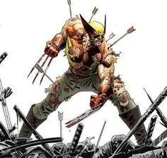 Wolverine!! Art by Dustin Weaver  #Wolverine #XMen #Marvel #MarvelComics #Comics #ConceptArt #Art #Artist #Superhero