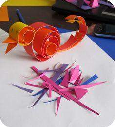Ptaszki z papieru ;-)