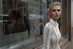 Inbal Dror 2016 Wedding Dresses - Ivory Mermaid long sleeves wedding dress   sodazzling.com