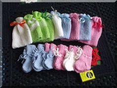 Mütsid ja sokid beebile/ hats & socks