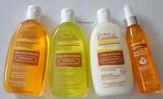 Nouveautés Rogé Cavailles - Huile bain et douche, crème de douche, huile sèche nourrissante