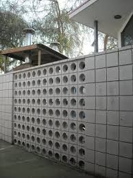perforated concrete block walls - Google Search