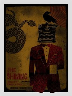 The Shining Poster by David O'Daniel