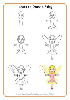 Learn to Draw a Fairy