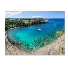 'Honolua Bay' by Pierre Leclerc Photographic Print on Canvas