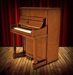 """Shortened Piano"" composition #Photoshop"