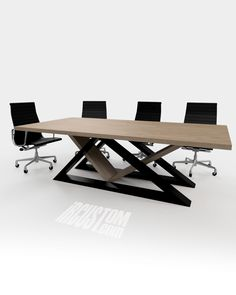 The juxtapostion of Metal + Wood will always be beautiful. We design & build functional pieces of art for home + office. . Contact us today to get your dream table or desk! IRcustom.com