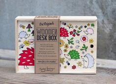 KIDS HEDGEHOG STORAGE BOX