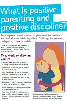 NSPCC - Positive parenting and positive discipline techniques will lead to a happy child and less stressed parents. Find out more: http://www.nspcc.org.uk/help-and-advice/for-parents-and-carers/guides-for-parents/better-behaviour/better-behaviour_wda90710.html #positiveparenting #discipline #parenting