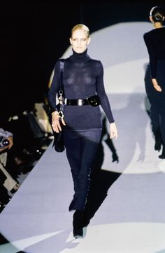 Gucci Fall 1996 Ready-to-Wear Fashion Show - Kate Moss
