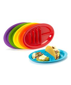 Look what I found on #zulily! The Taco Plate Set #zulilyfinds