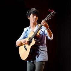 Sungha Jung. He is my guitar Role model!  -Danny