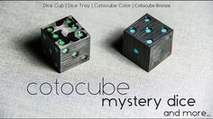 Cotocube is a minimalistic carbon fiber dice filled with mystery. It looks…