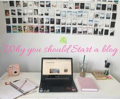 To Read with Tea.: Why you should start a blog